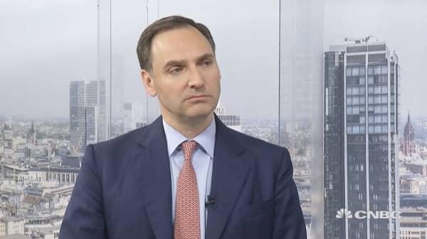 Deutsche Bank CFO on the bank's strategy through volatility