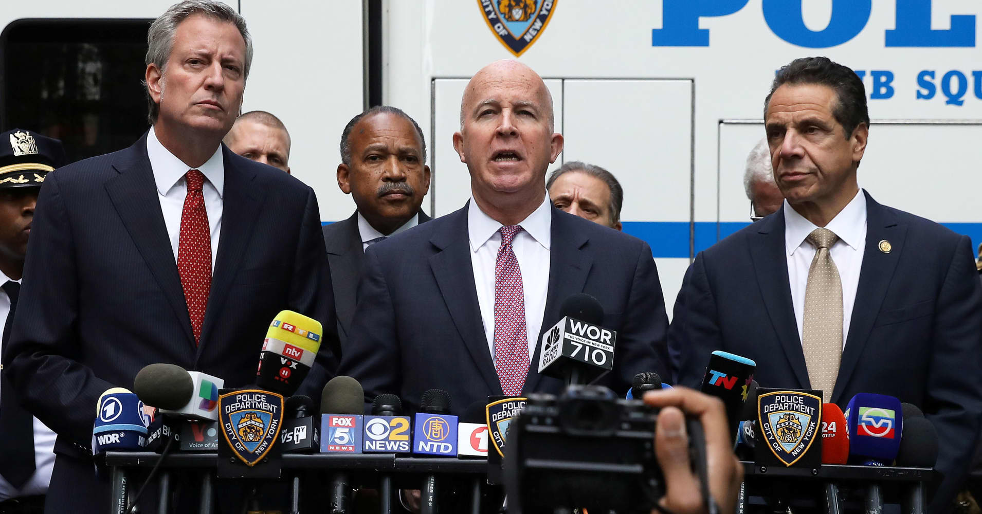 NYC mayor calls live explosive device sent to CNN an 'act of terror'