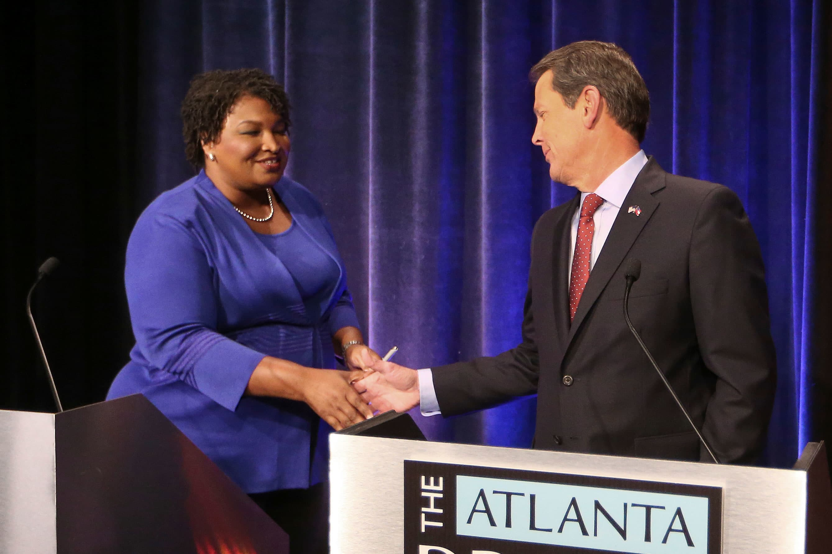 Trump: Stacey Abrams will get rid of the Second Amendment if elected Trump: Stacey Abrams will get rid of the Second Amendment if elected new picture
