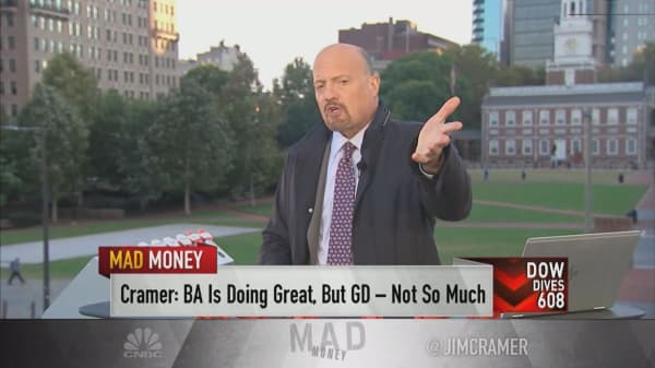 This Warren Buffett quote 'is the perfect tagline for this earnings season,' Jim Cramer says