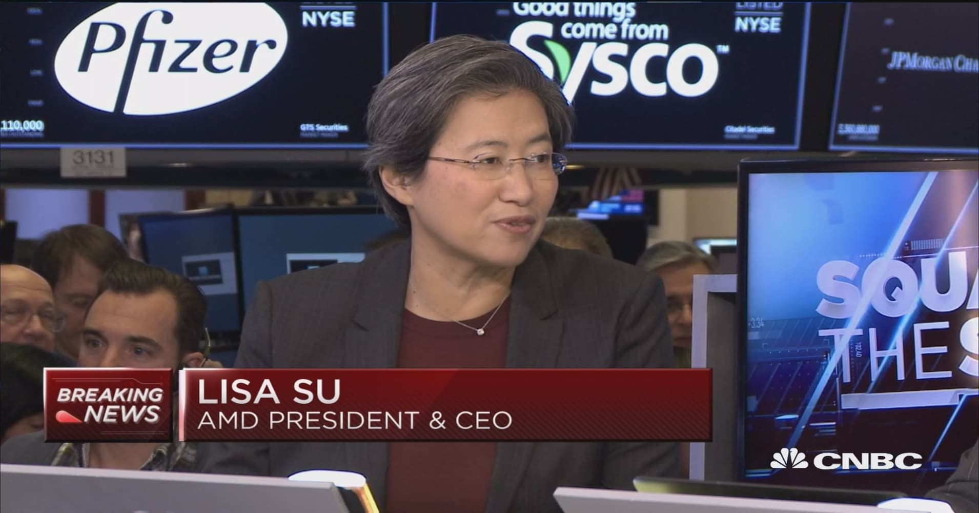 AMD's Lisa Su on quarterly earnings and her forecast for next year