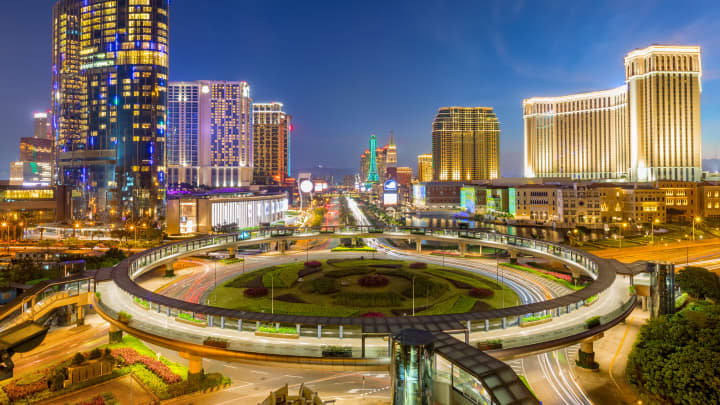Macau, known as China's answer to Las Vegas, is wealthy and it's only getting wealthier.
