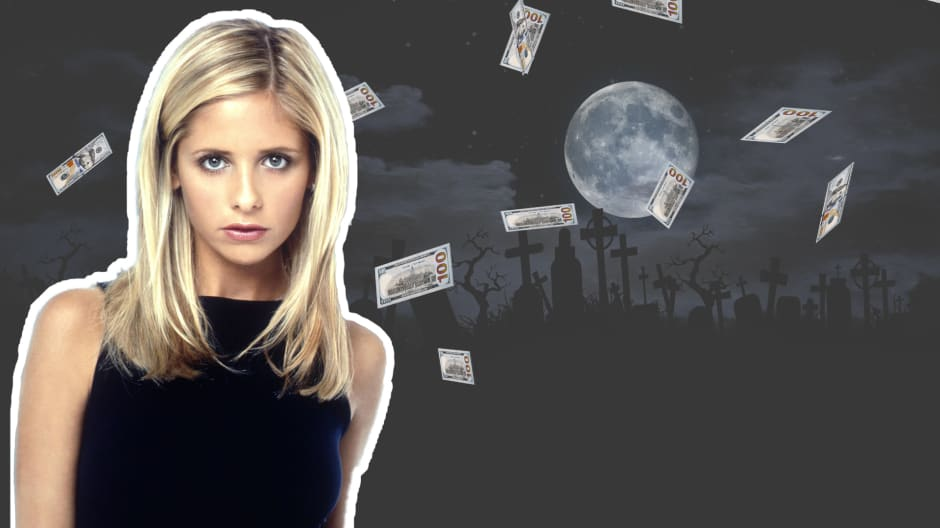 This is what Sarah Michelle Gellar did with her first 'Buffy' paycheck