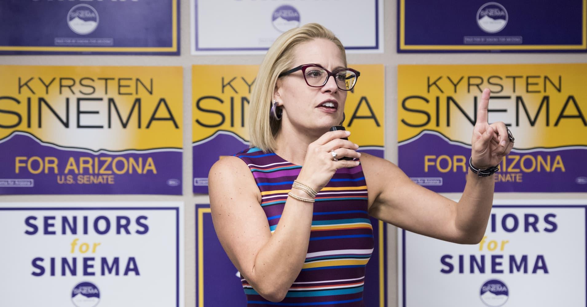 Democrat Kyrsten Sinema is the apparent winner of Arizona Senate race: NBC News