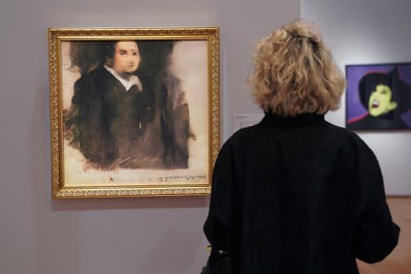 """""""Edmond de Belamy"""" sold at Christie's in New York City on Thursday."""