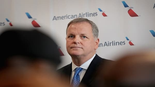 American Airlines CEO says cost of fuel has driven the company's earnings down