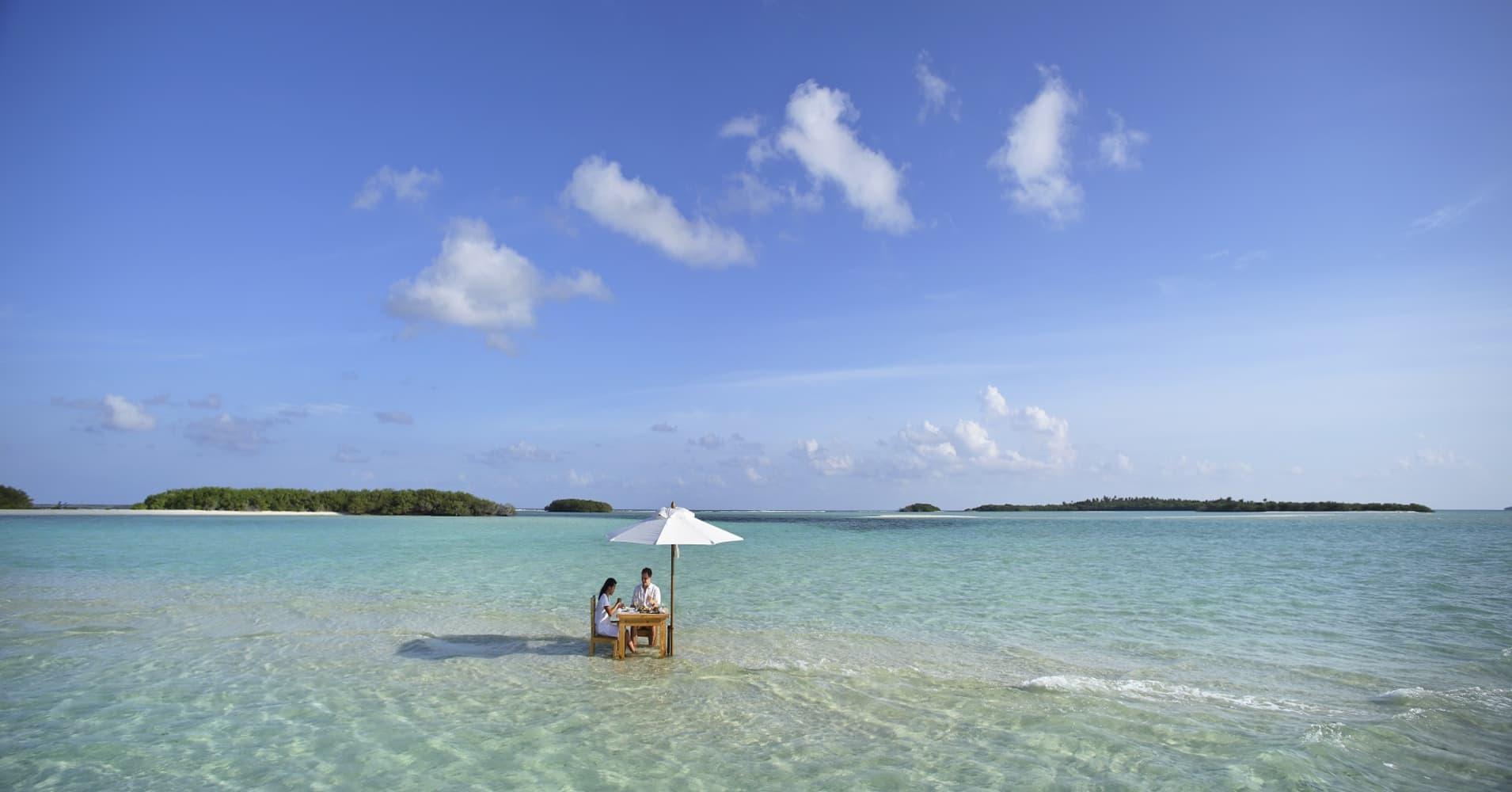 Soneva Jani in Maldives.