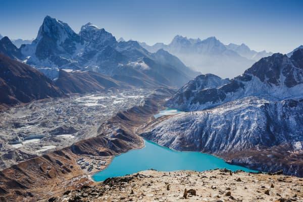 Gokyo Valley in Nepal.