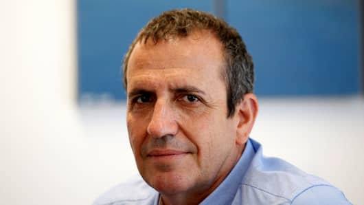 Eyal Waldman, President and CEO of Mellanox Technologies poses for a photograph at the company's headquarters in Yokneam, in northern Israel July 26, 2016.