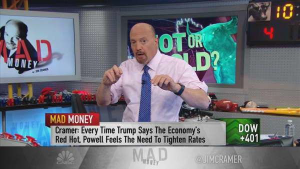 Cramer explains the market volatility and why another Great Recession is not in the cards