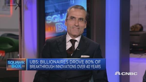 Number of female billionaires is growing: UBS' Stadler
