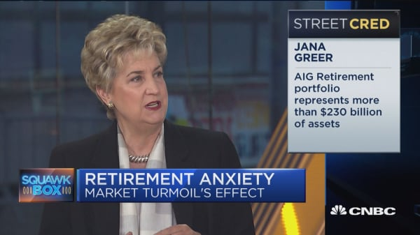 AIG Retirement CEO on how market turmoil can affect your retirement