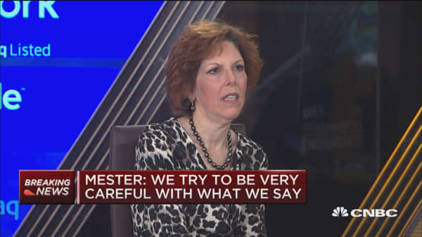 Mester: Tariff, trade policy causing some uncertainty