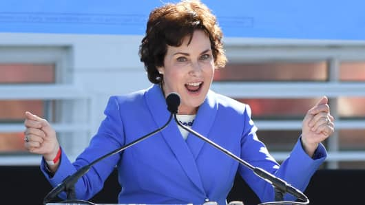 U.S. Rep. and U.S. Senate candidate Jacky Rosen (D-NV).
