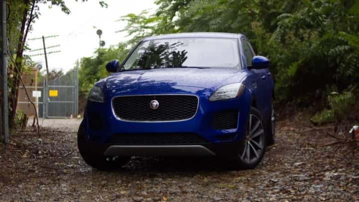 The 2018 Jaguar E Pace