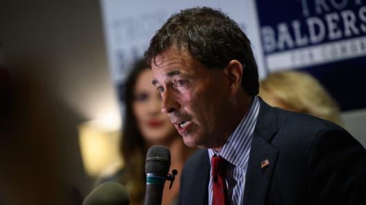 Republican congressional candidate Troy Balderson.