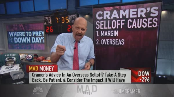 Cramer flags the different types of 'buyable' sell-offs and how to know when to take action