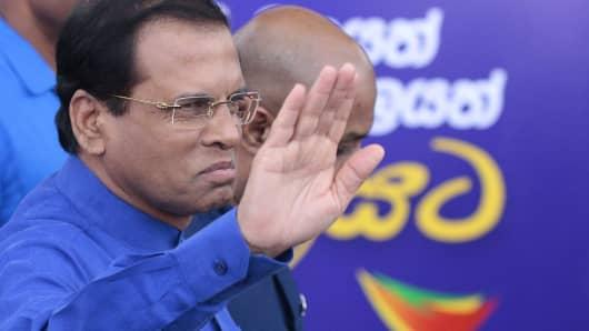 prime minister of sri lanka now