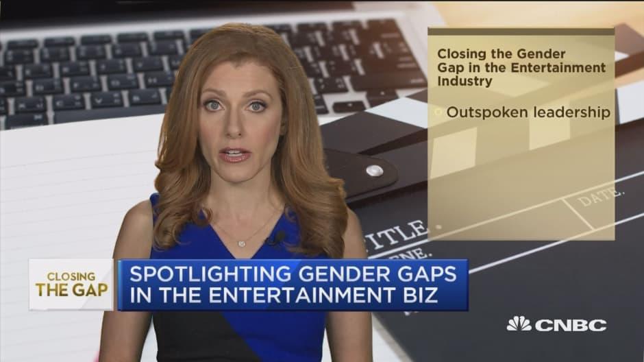 Spotlighting gender gaps in the entertainment business