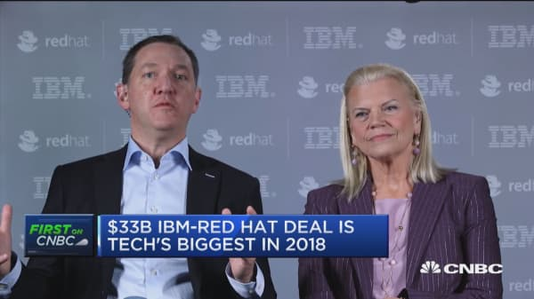 This is best way for open source and our company to achieve full potential, says Red Hat CEO