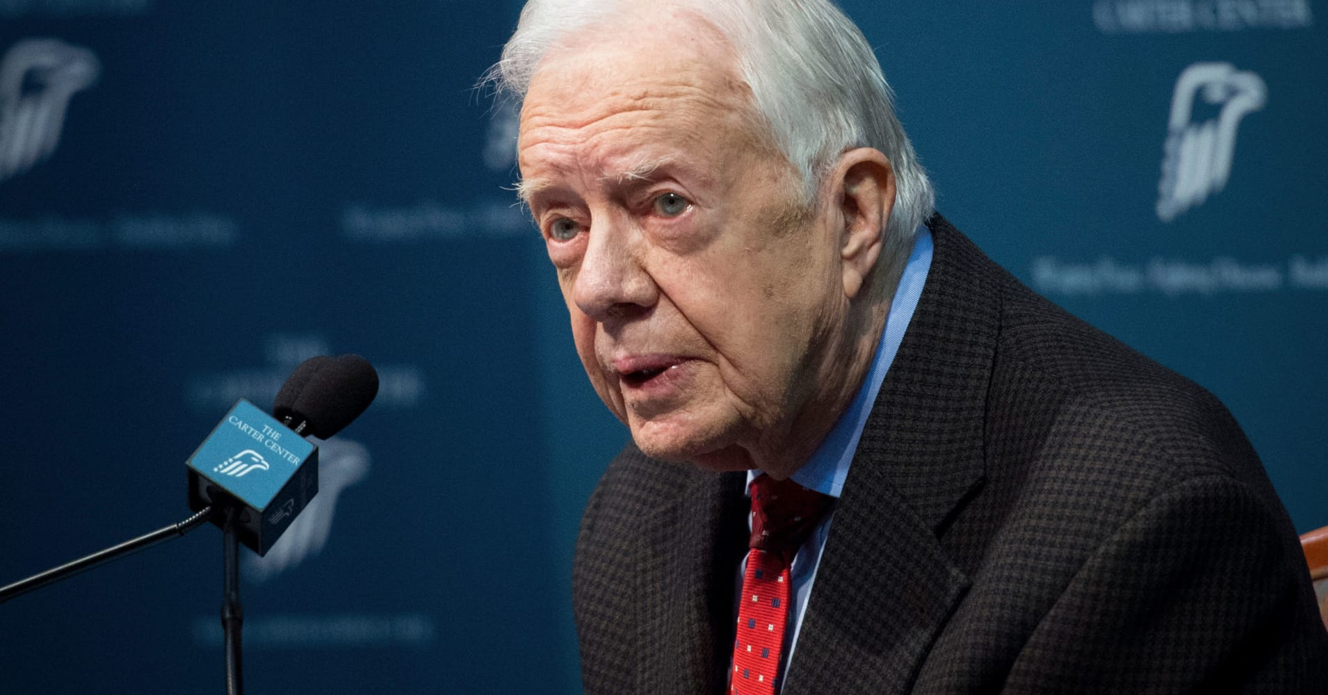 Jimmy Carter calls on Georgia GOP candidate to resign as secretary of state