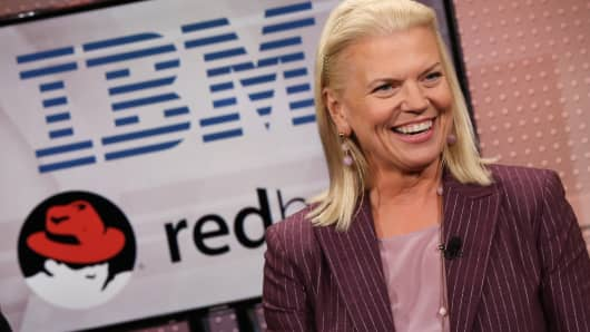 Ginni Rometty, CEO of IBM on Mad Money to discuss IBM's acquisition of Redhat.