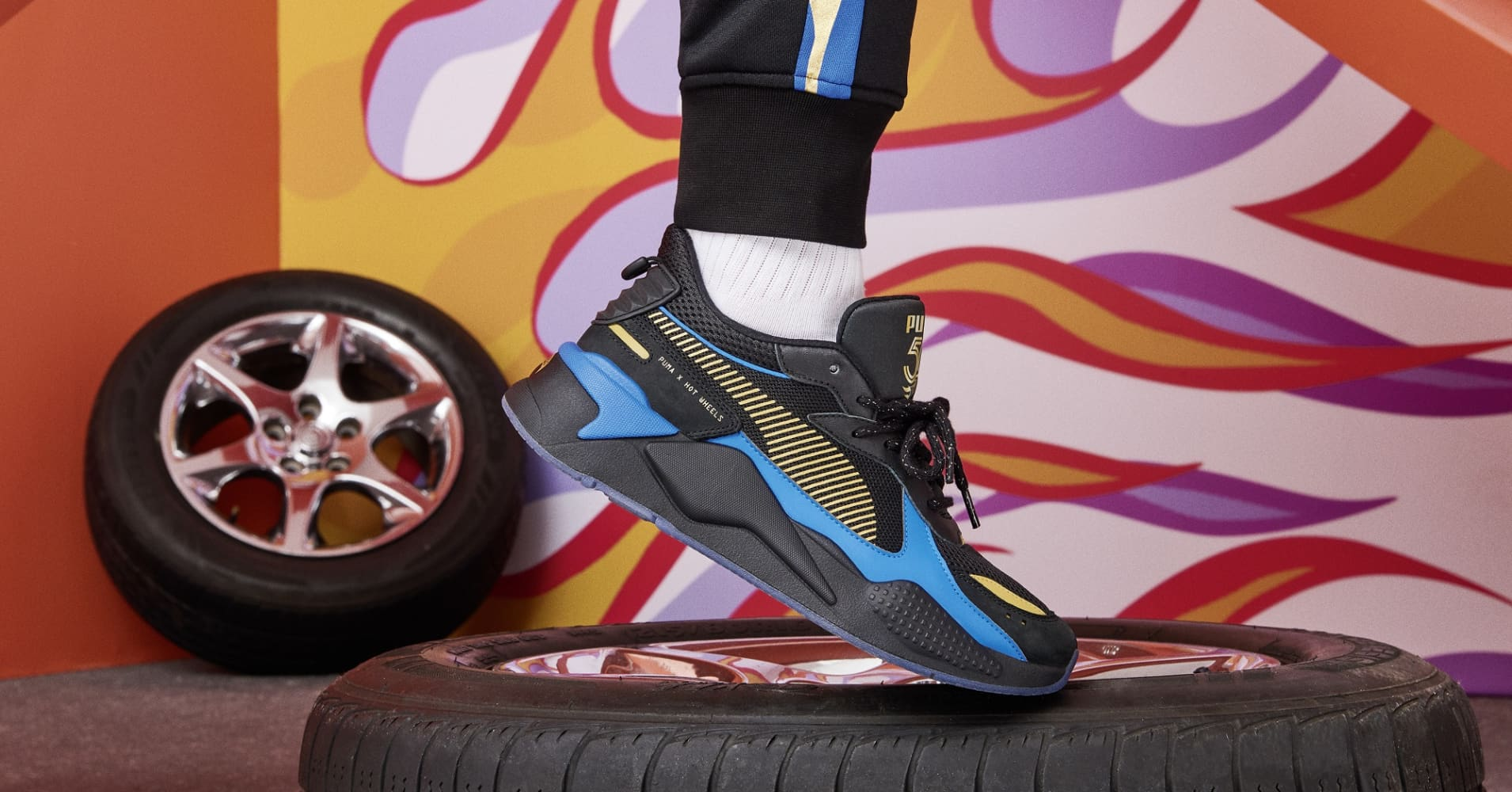 596f521003b066 Photos  Hot Wheels debuts custom sneakers with Puma