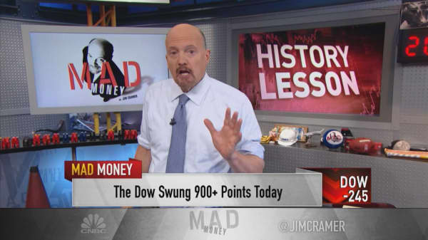 This market reminds Jim Cramer of some of the worst declines he's ever seen