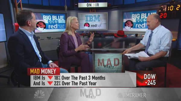 IBM CEO: Red Hat deal is a 'game-changer' that will grow cash flow and gross margins in first year