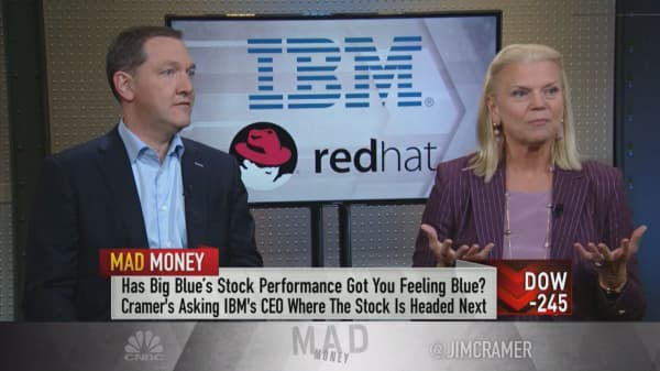 Red Hat deal will grow cash flow, gross margins in first year: IBM CEO