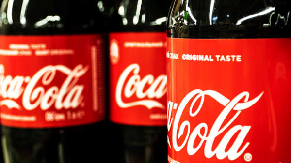 Coca-Cola beats on top and bottom lines
