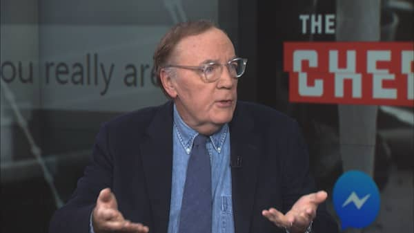 James Patterson to release new book on Facebook Messenger