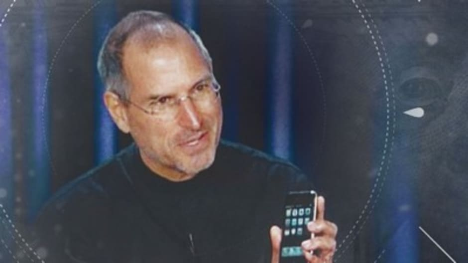Watch Steve Jobs explain the iPhone in 2007 CNBC interview