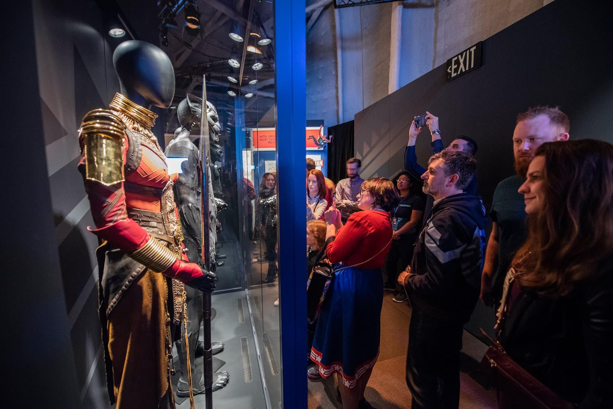 Photos Black Panther Costume Designer Made 25k Halloween Costume