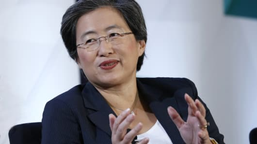 Lisa Su, President & CEO of AMD