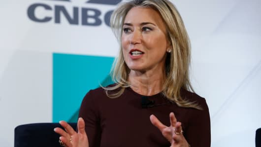 Juliet de Baubigny at the CNBC Productivity@Work event, October 30, 2018.