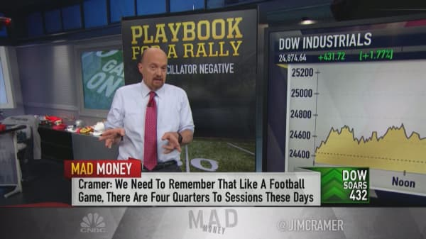 These 5 signs tell Jim Cramer that Tuesday's market rally was 'justified'