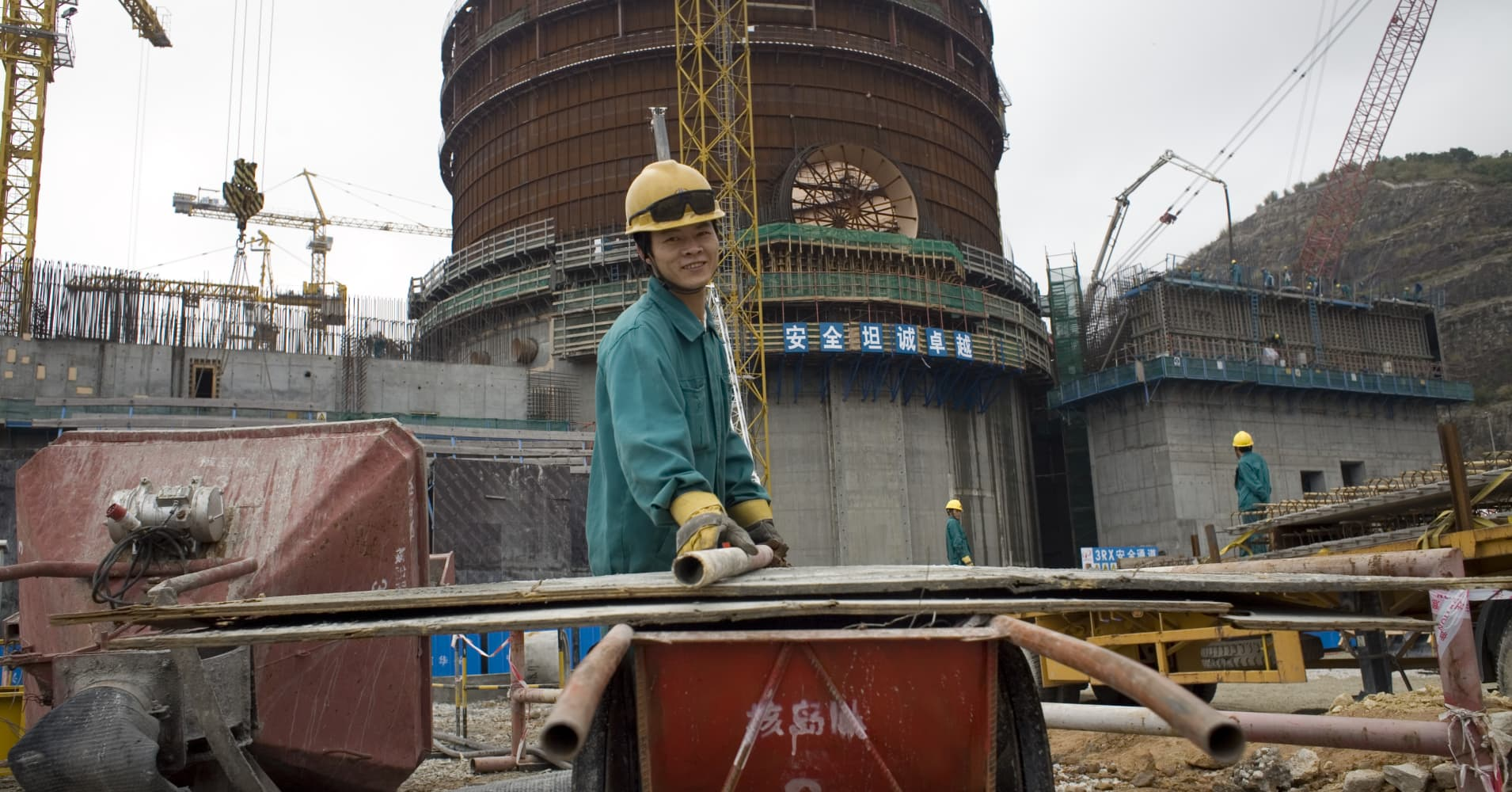 China nuclear power generation up 13 percent between January and September
