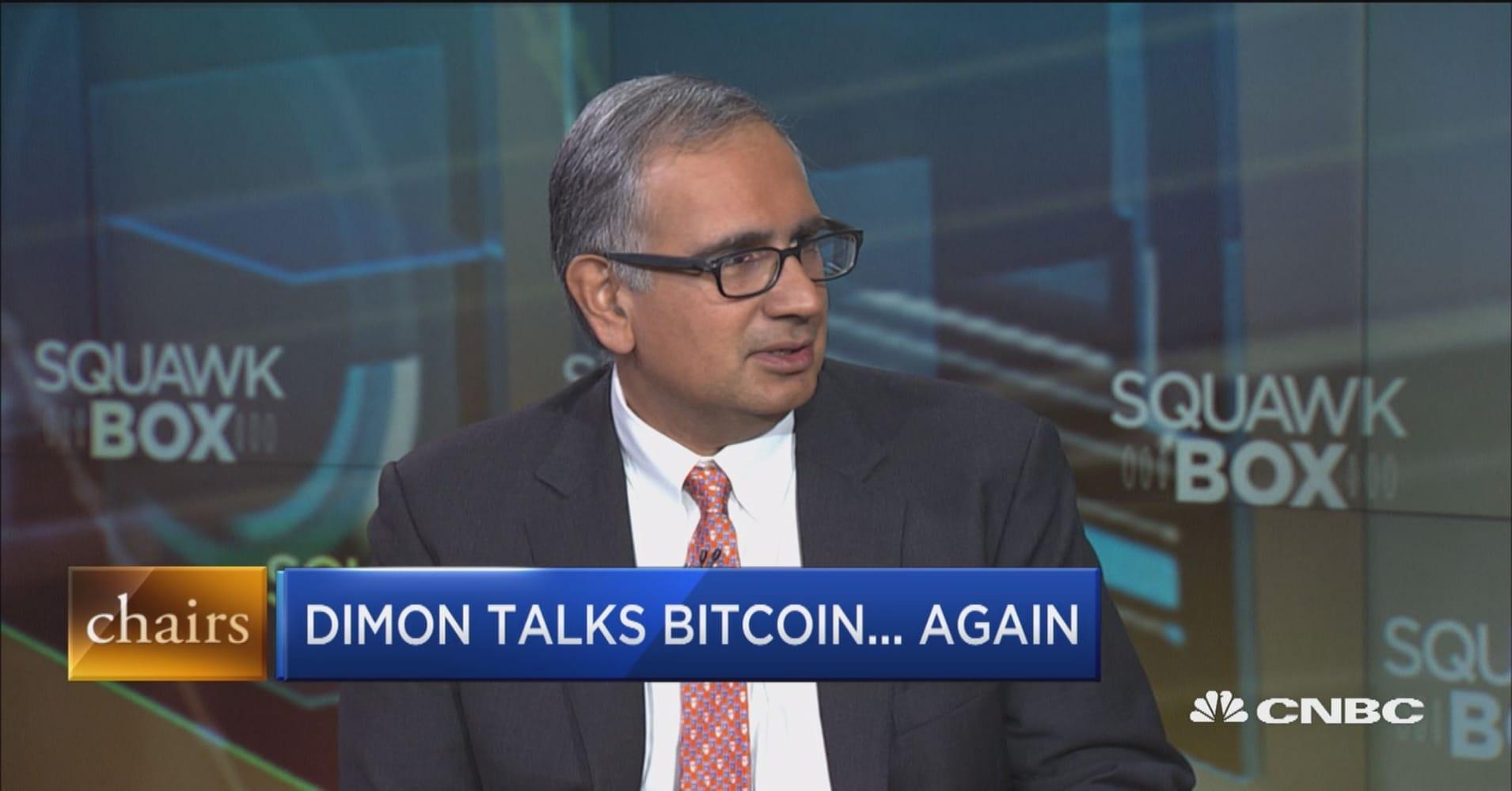 Jamie Dimon talks bitcoin