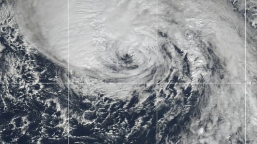 Hurricane Oscar on October 31, 2018.