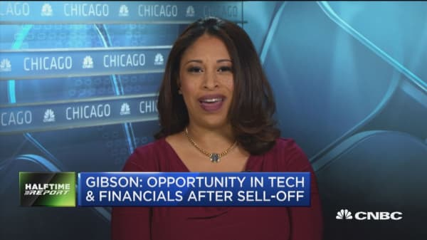 Opportunity in tech and financials after sell-off, expert says