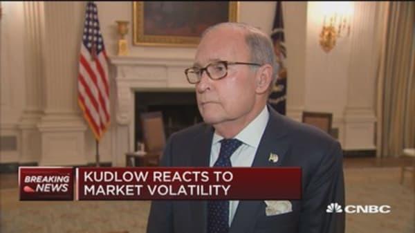 Kudlow: Nothing set in stone on China tariffs