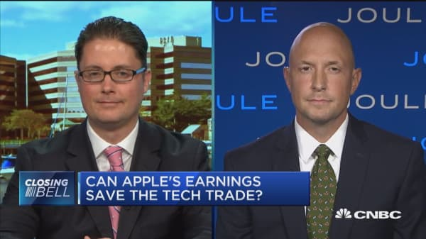 Expert: Even though China is a risk to Apple, the company's shares are set up 'beautifully'