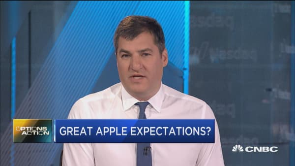 Apple reports earnings on Thursday--here's what traders are expecting