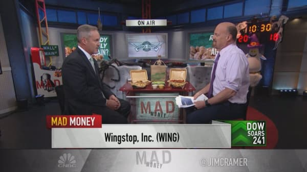 A quarter of Wingstop's revenue comes from digital—here's where the CEO sees it going next