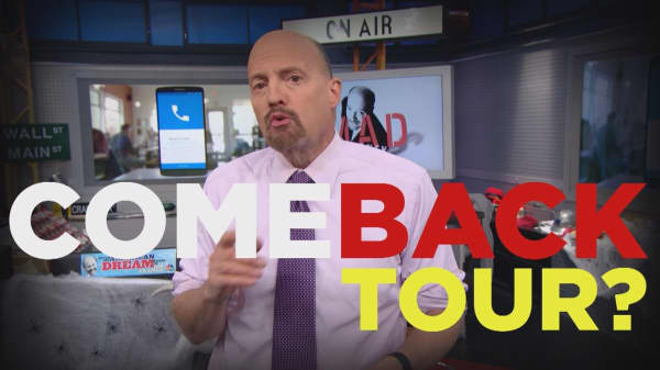 Cramer Remix: Facebook's not back yet, but it's on its way