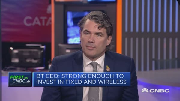 BT CEO: Will see new revenue streams from 5G in 2-3 years