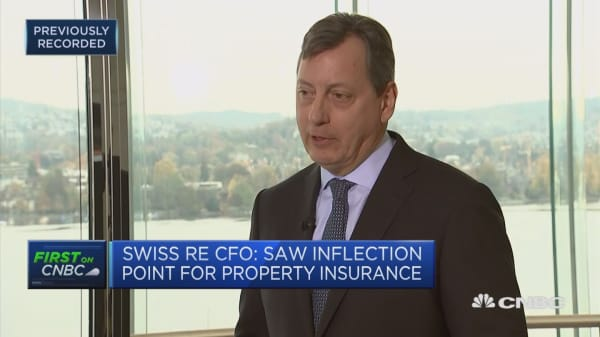 Swiss Re CFO: ReAssure IPO remains on track