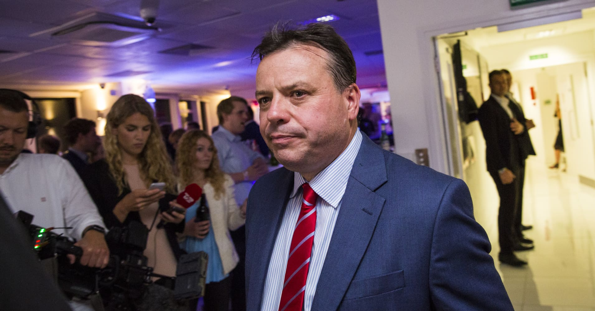 UK crime agency investigates Brexit-backer Arron Banks