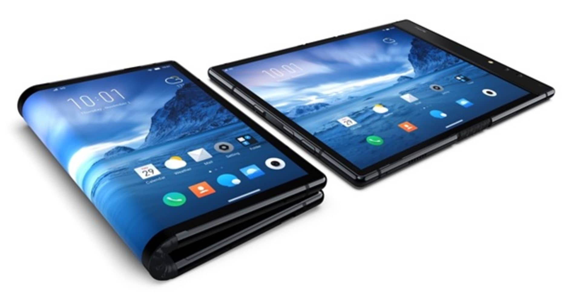 Royole beats Samsung with first foldable smartphone